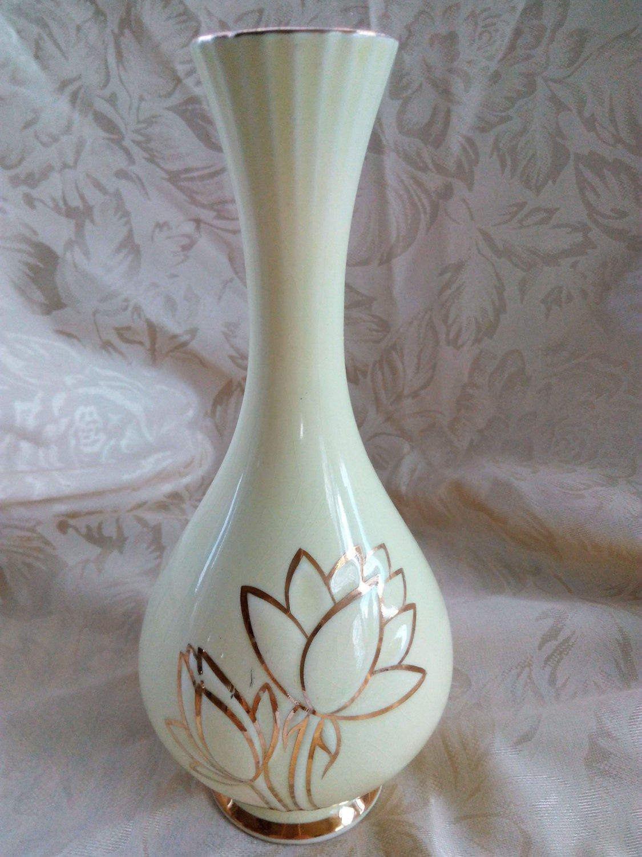 """steuben crystal vase of golden more antique vase marked warranted 22kt within dŸ""""Žzoom"""