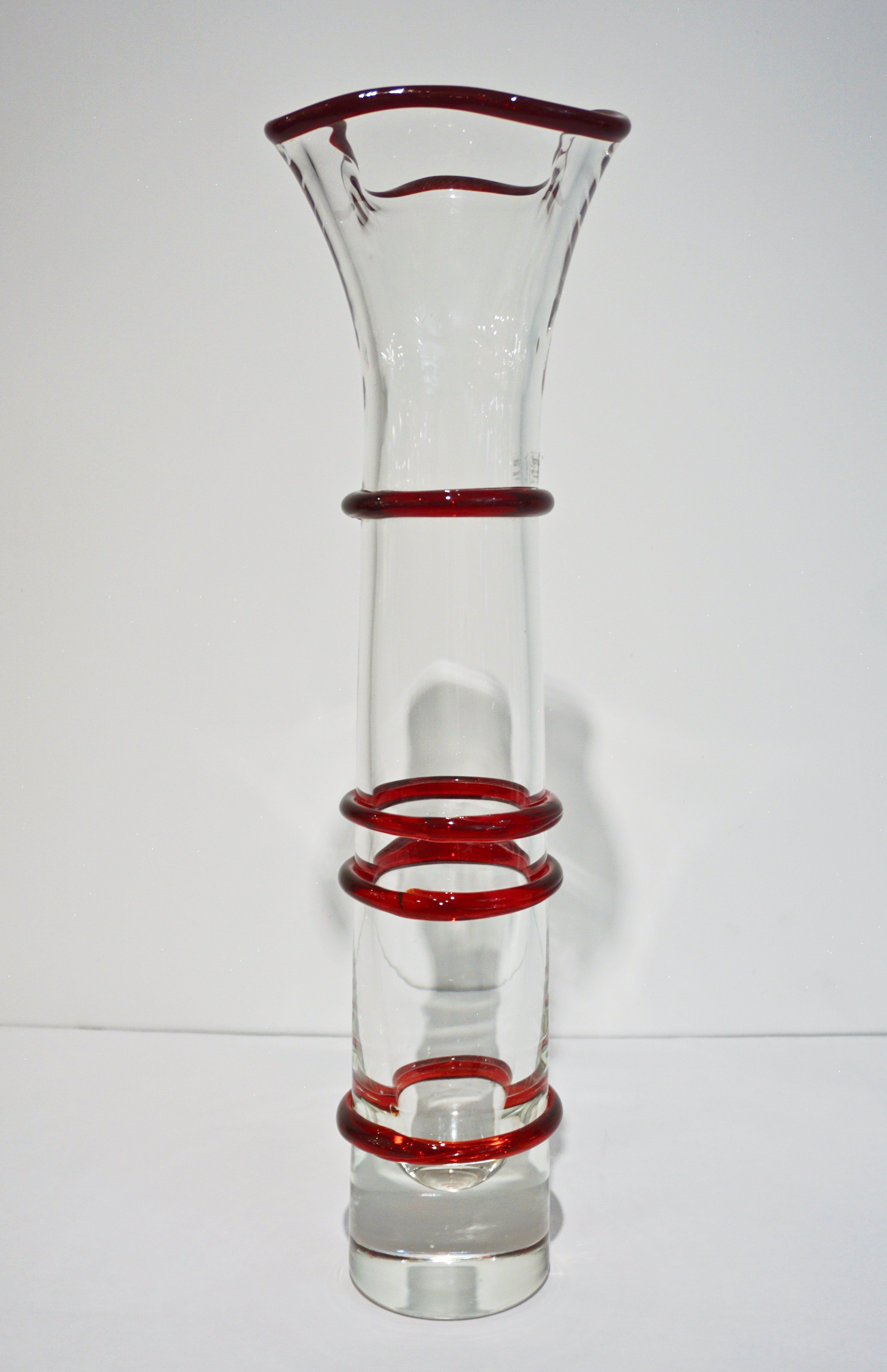 steuben glass vase vintage of baccarat crystal vase luxury formia italian 1970s two white red regarding baccarat crystal vase luxury formia italian 1970s two white red crystal clear murano glass tall