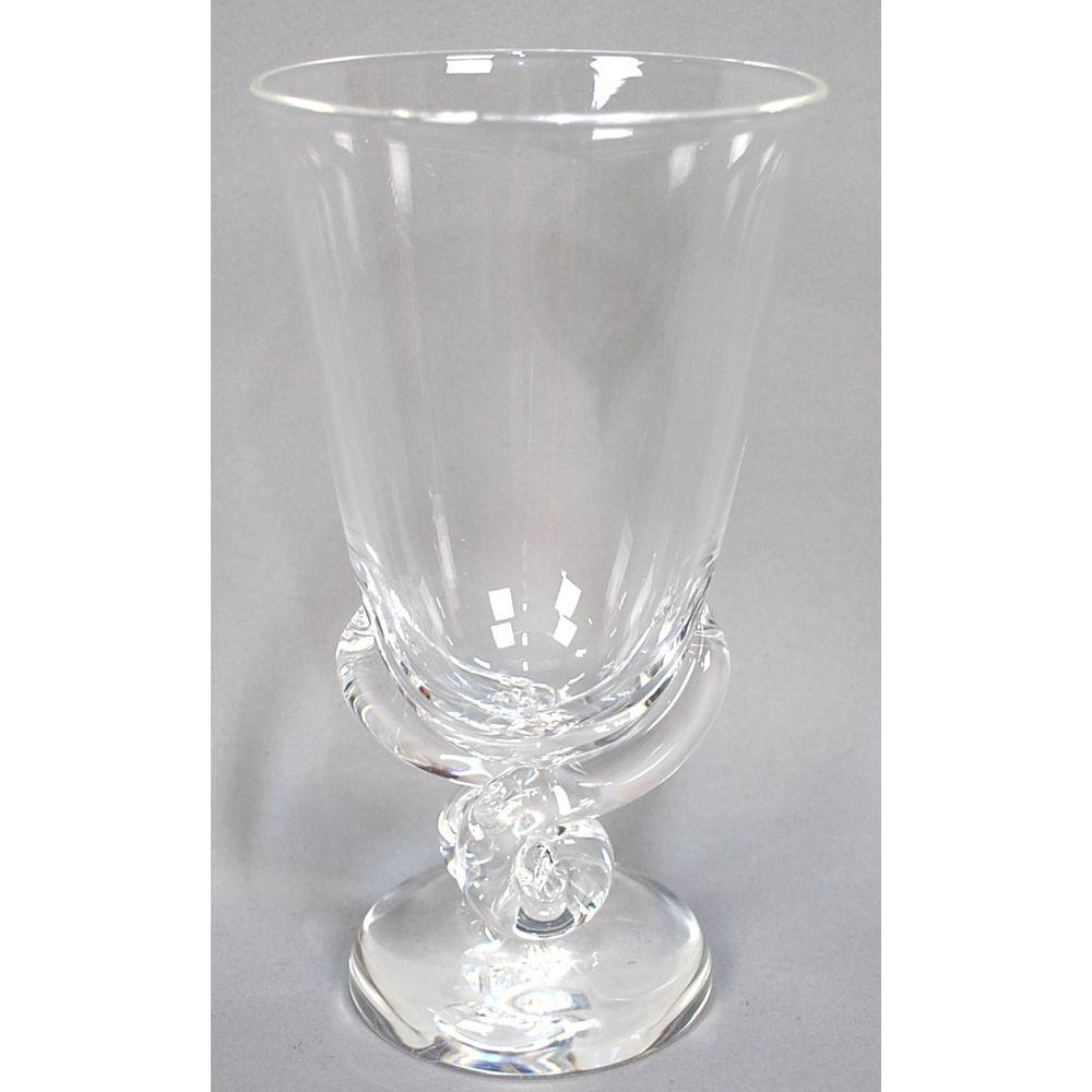 steuben vase value of vintage crystal scroll flower signed steuben vase by george thompson regarding vintage crystal scroll flower signed steuben vase by george thompson ca 1940s