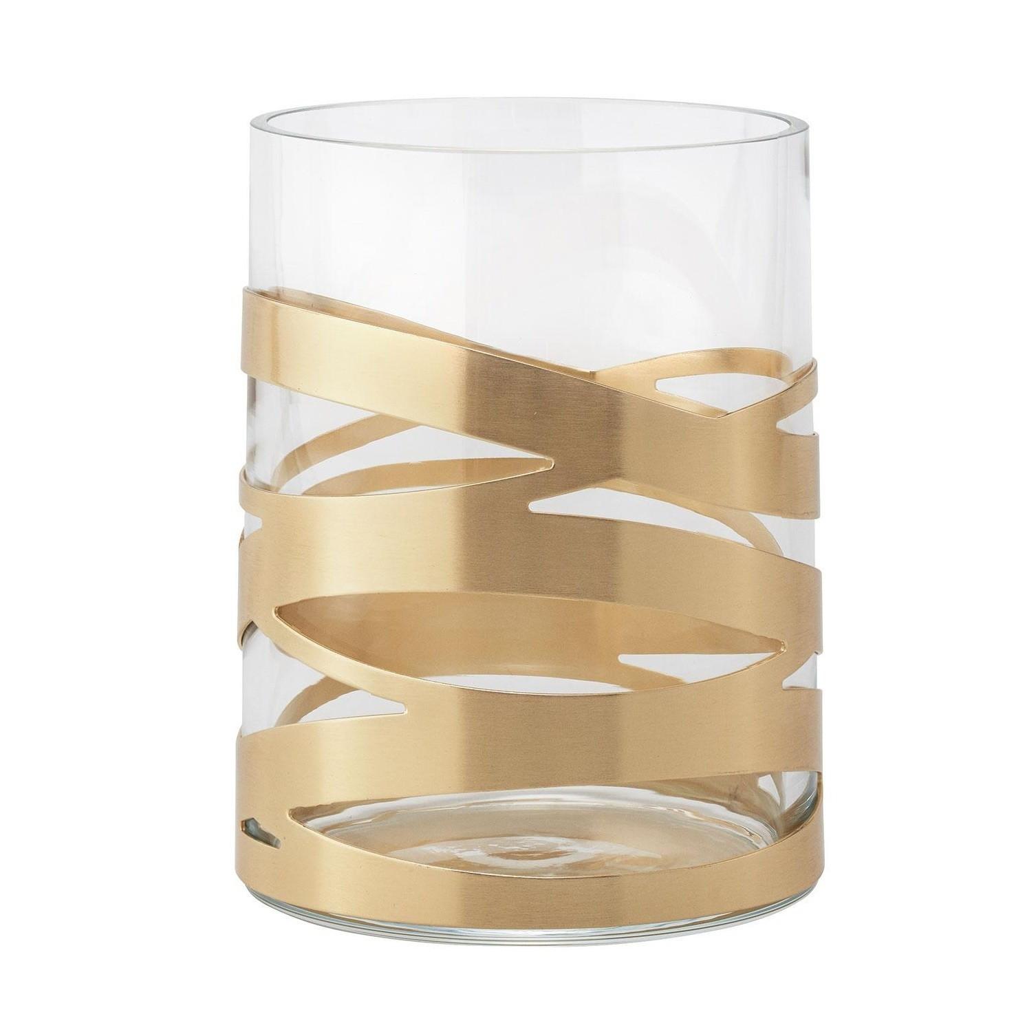 swedish glass vase of stelton tangle vase ambientedirect within stelton tangle vase glass brass