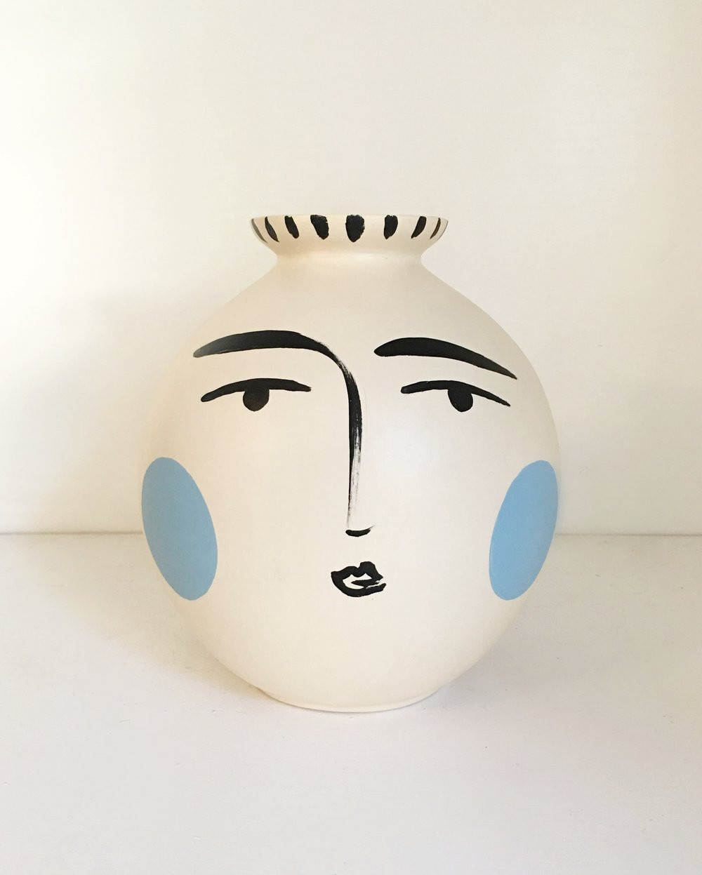 tall black ceramic vase of paige pottery paige kalena follmann with regard to blushing blue vase sold