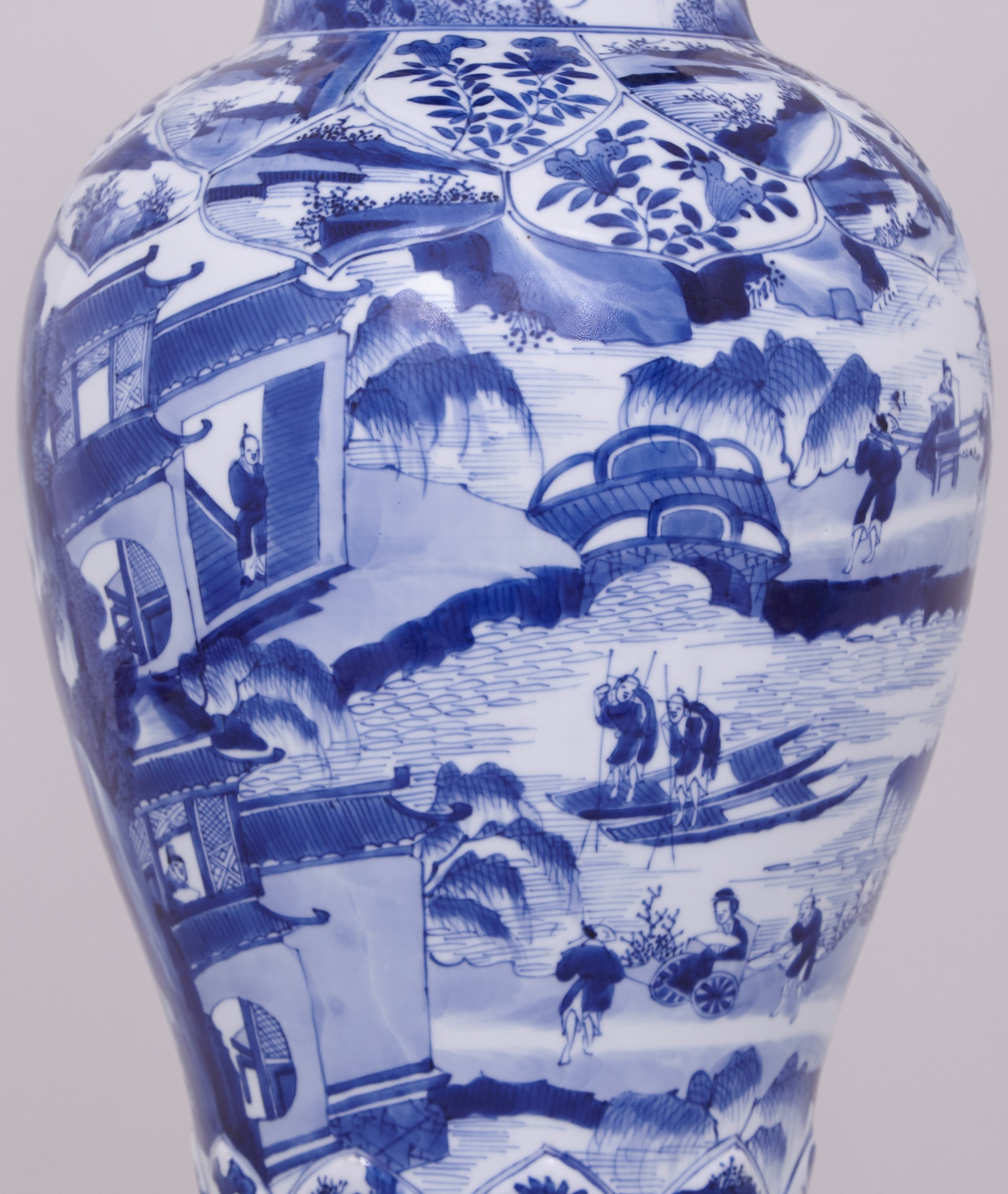 22 Amazing Tall Blue Vase 2021 free download tall blue vase of a pair of highly unusual tall and fine chinese blue and white vases regarding a pair of highly unusual tall and fine chinese blue and white vases and covers