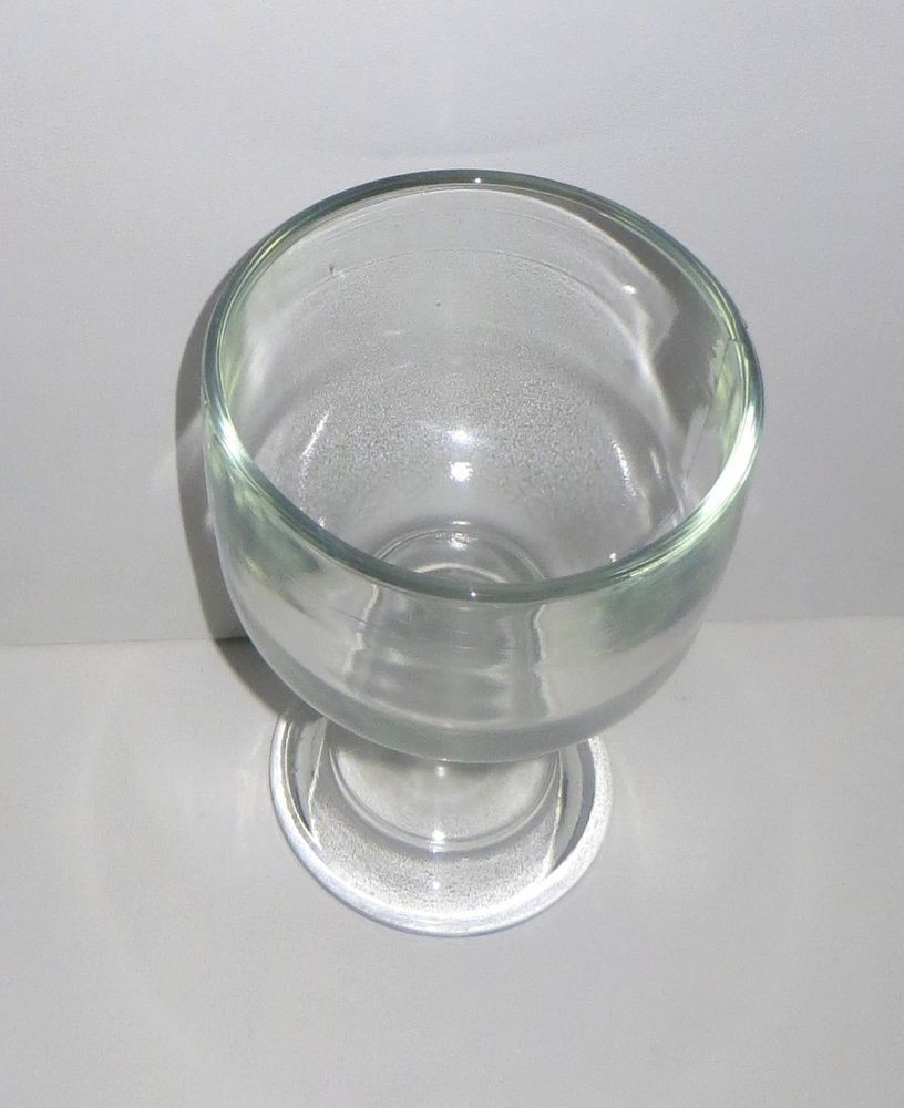 tall clear glass pedestal vase of vintage large pedestal bowl heavy clear glass great condition bar for vintage large pedestal bowl heavy clear glass great condition