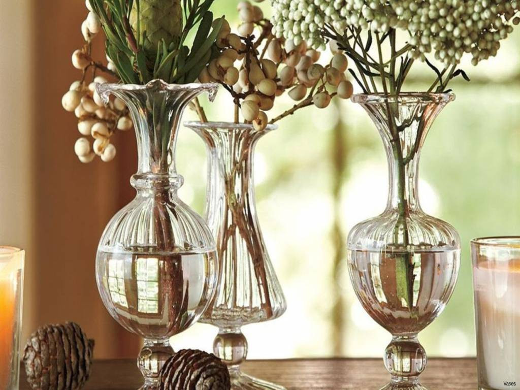 22 attractive Tall Clear Vases | Decorative vase Ideas