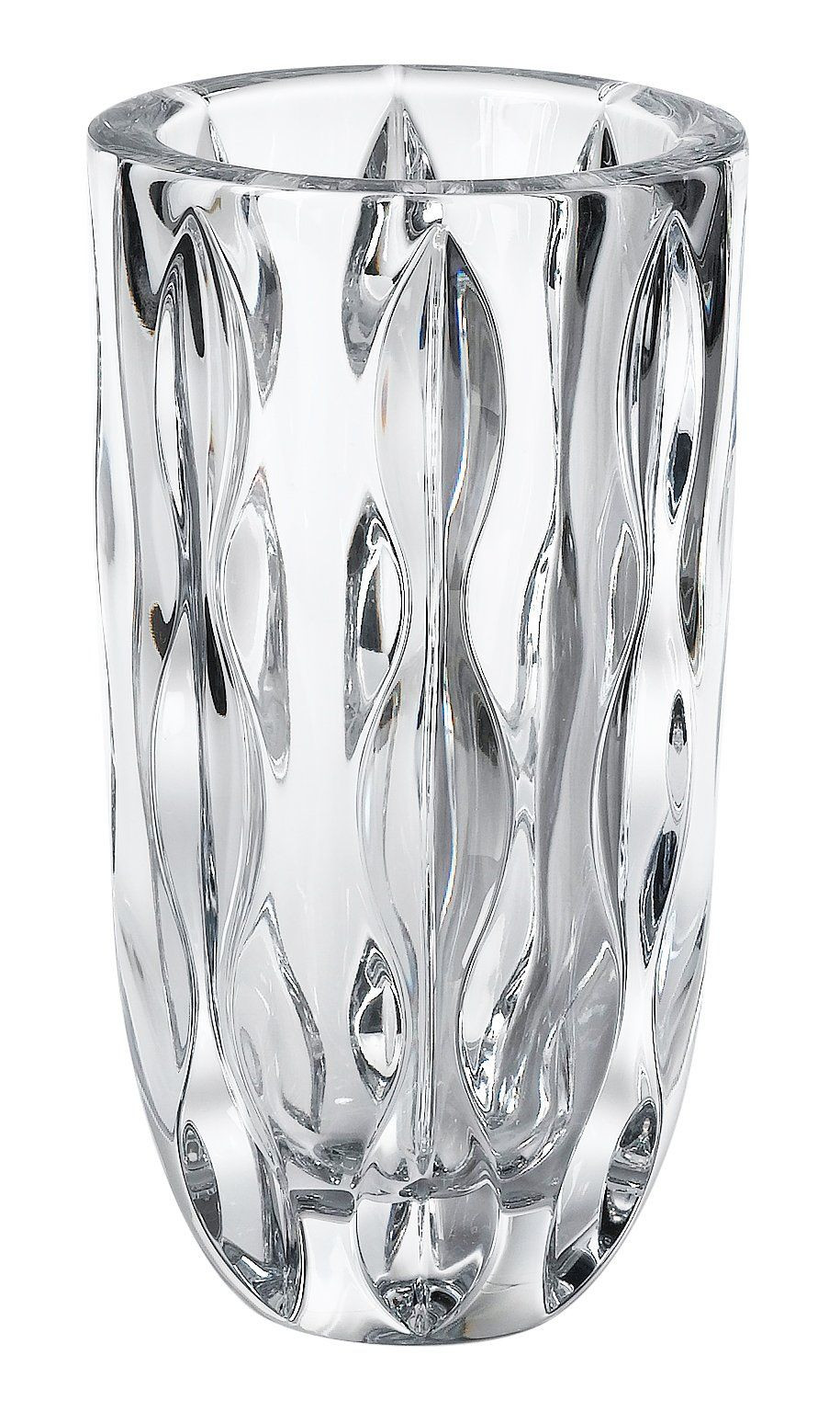 Tall Cylinder Vases Set Of 3 Of Reed Barton Crystal Equinox 10 Inch Vase Design Incorporates Deep Pertaining to Reed Barton Crystal Equinox 10 Inch Vase Design Incorporates Deep Flowing Cuts