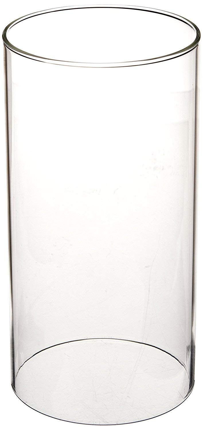 tall cylindrical glass vases of amazon com sunwo borosilicate glass clear glass cylinder vase glass throughout amazon com sunwo borosilicate glass clear glass cylinder vase glass chimney lampshade candle holder open end height 8 inch diameter 3 inch 1 pack home