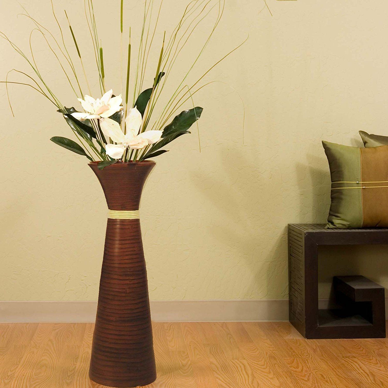 tall floor vase with sticks of 19 luxury bamboo floor vase images dizpos com with bamboo floor vase awesome green floral crafts 28 in plantation bamboo floor vase brown with pictures