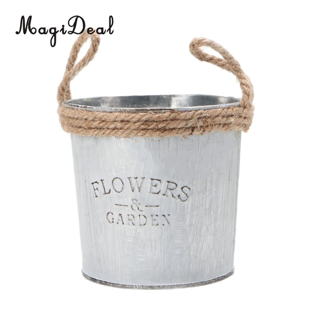 tall galvanized floor vase of 3 pieces shabby chic galvanised iron flower plants pot bucket flower within 3 pieces shabby chic galvanised iron flower plants pot bucket flower vase