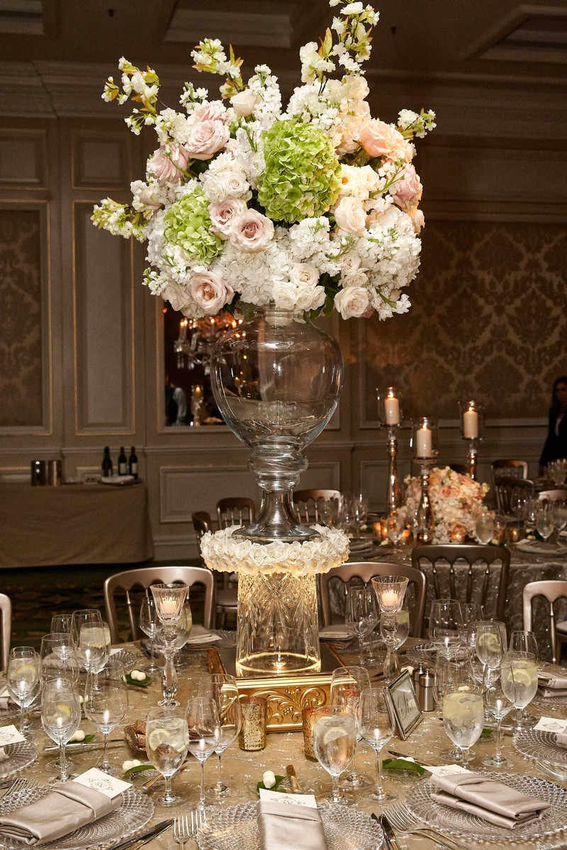 Tall Gold Glass Vase Of Tall Gold Cylinder Vases Home Decorating Ideas Interior Design within Accessories Marvellous Elegant Wedding Blush Ivory and Gold