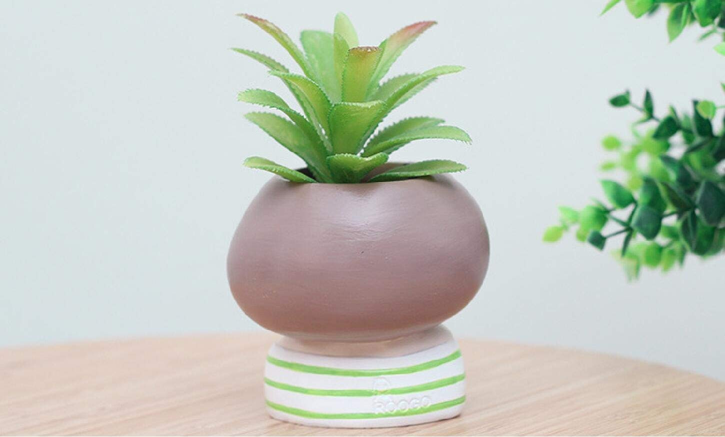 tall outdoor ceramic vases of amazon com pinsjar 4 items succulent plant pot cute girl flower regarding amazon com pinsjar 4 items succulent plant pot cute girl flower planter flowerpot crea