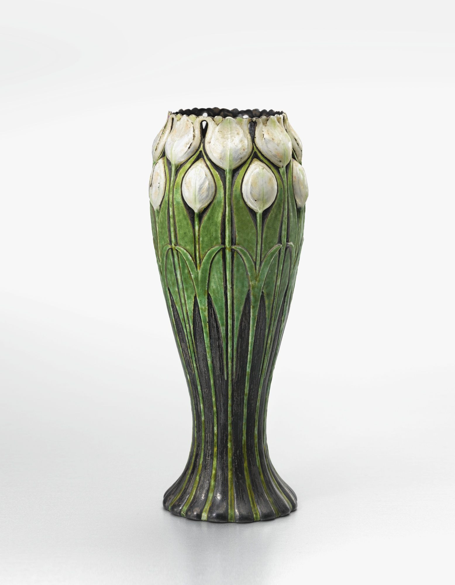 tall outdoor ceramic vases of tiffany co tulip vase impressed tiffany co 16568 makers 4105 with tulip vase impressed tiffany co 16568 makers