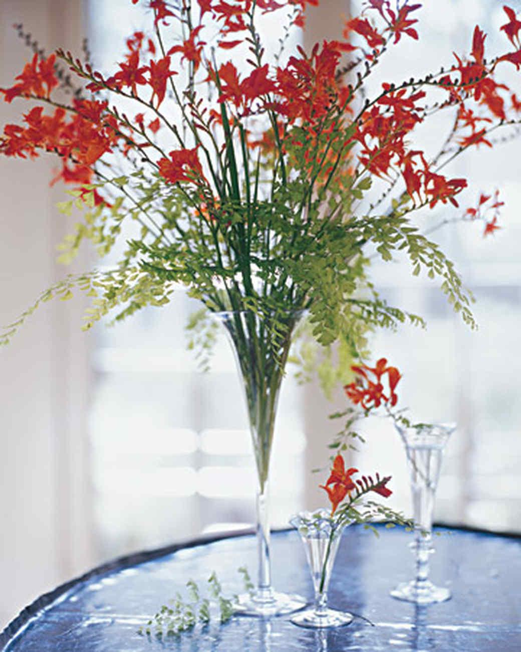 tall silk flower arrangements in vases of marthas flower arranging secrets martha stewart throughout lesson 3