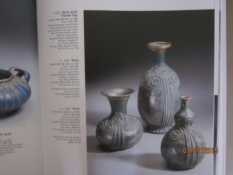 tall thin blue vase of art nouveau macintosh roses vase amphora turn teplitz austria book pertaining to art nouveau macintosh roses vase amphora turn teplitz austria book piece 1760919915