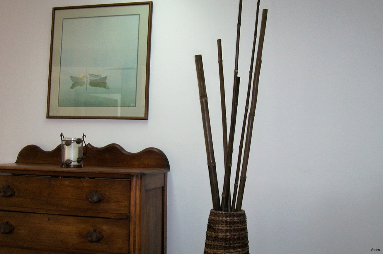 22 Unique Tall Vase with Bamboo Sticks