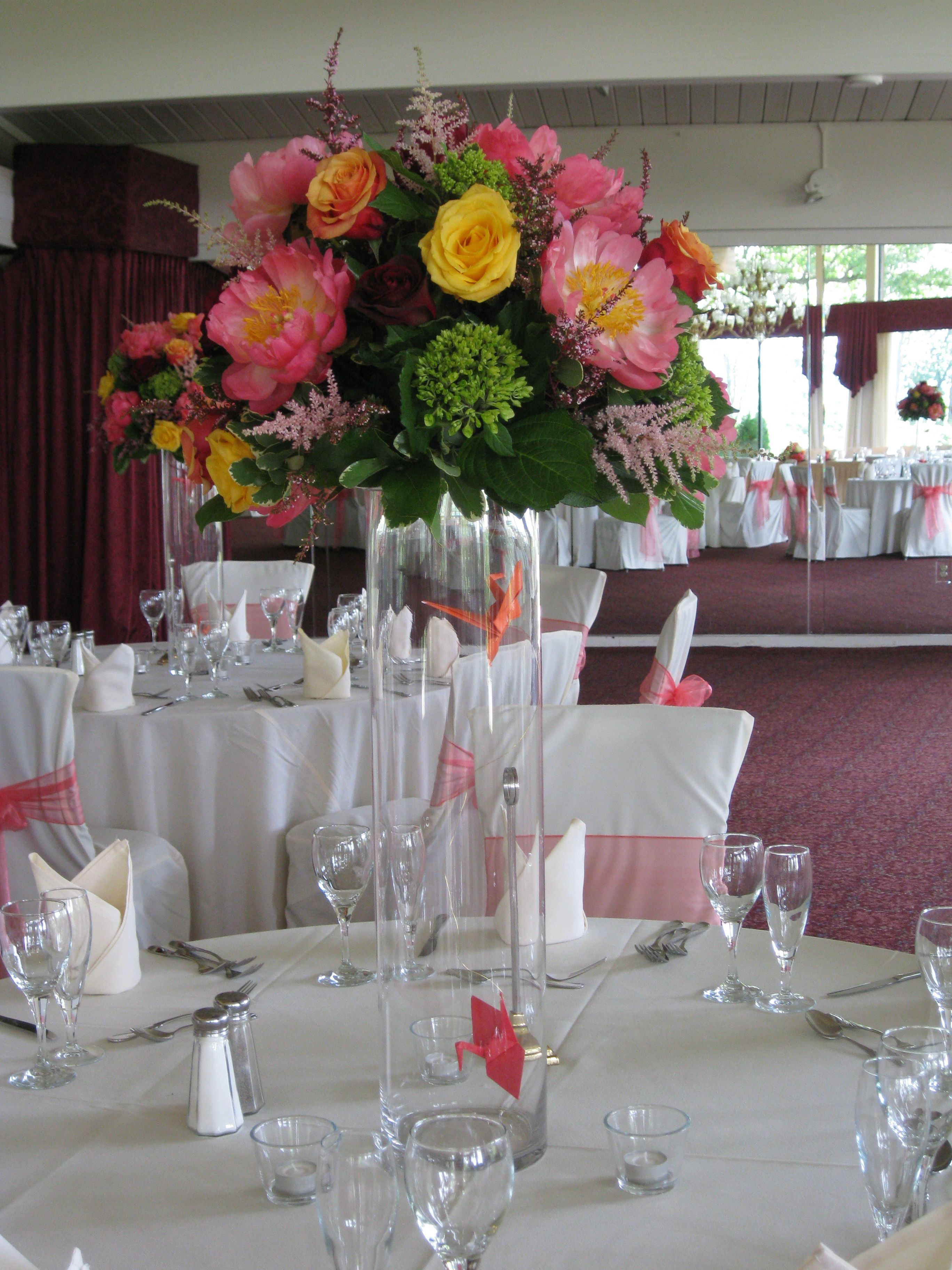 tall vases for wedding reception of tall glass vase centerpiece ideas close up of the centerpieces throughout tall glass vase centerpiece ideas close up of the centerpieces beautiful coral peonies and enclosed