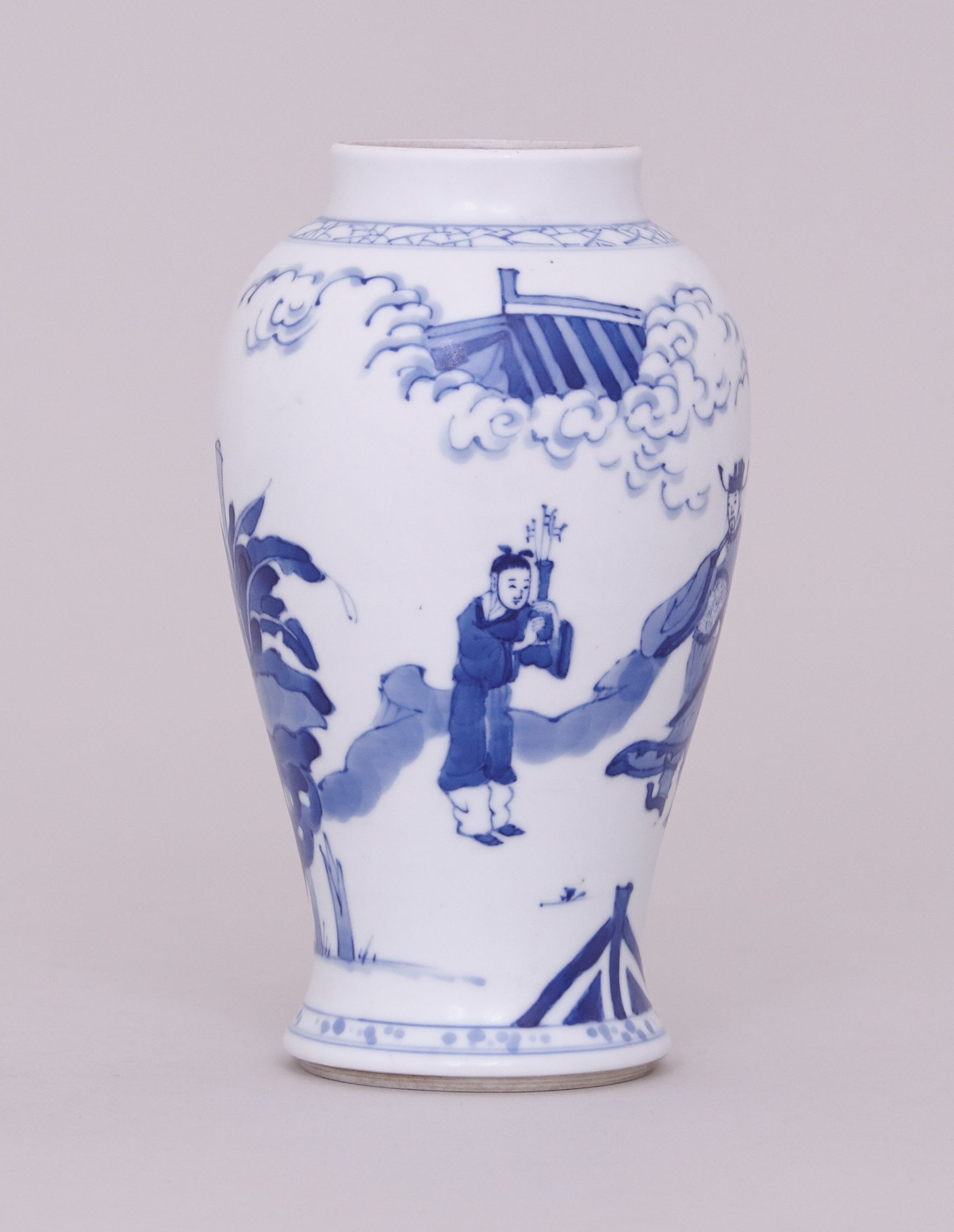 tall wide glass vase of 32 wide mouth vase the weekly world with a chinese blue and white vase kangxi 1662 1722