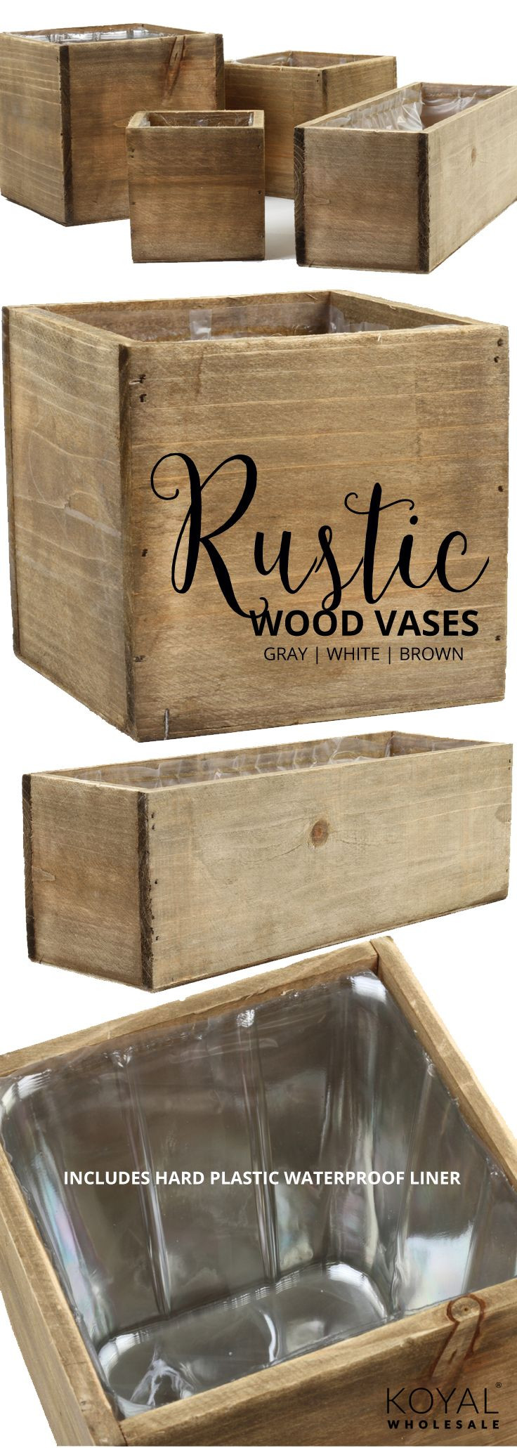 tall wooden vases wholesale of 468 best burlap wedding ideas images on pinterest table centers inside koyal wholesale rustic wood flower vases in bulk 3 colors shabby white distressed