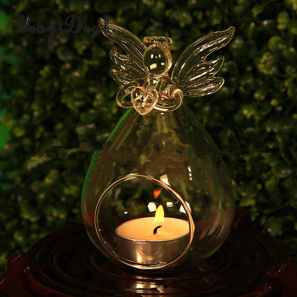 tea light candle vases of 5x glass angel tea light candle holder candlestand micro landscape with regard to 5x glass angel tea light candle holder candlestand micro landscape bottle flower pot