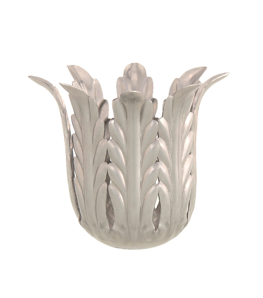 tea light holder with vase of steel candle cup husk 2 3 8 ht 11558 bp lamp supply in stamped steel candle cup husk 2 3 8 ht 2 7 8 o d slips 1 8 ip unfinished