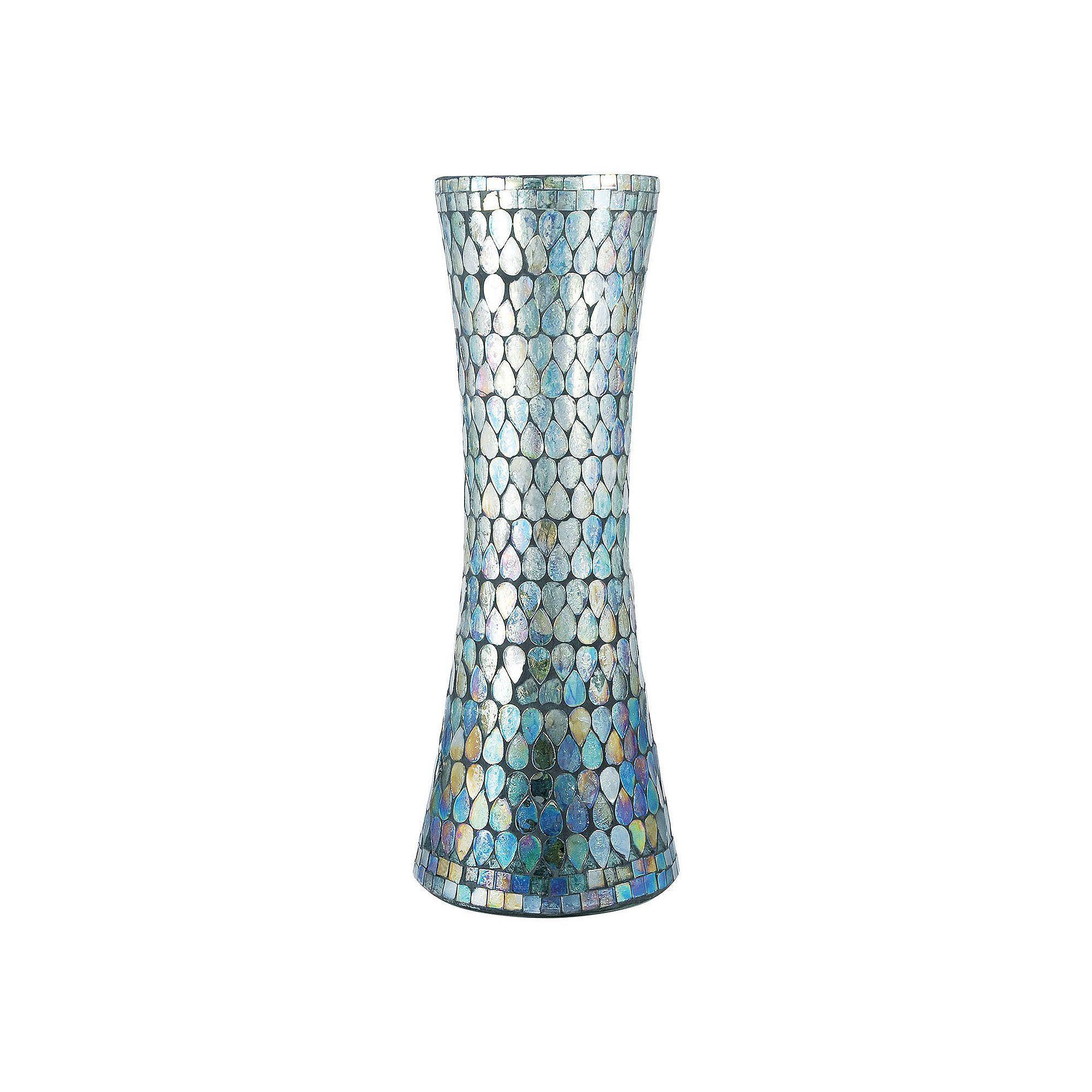 teal vases in bulk of pomeroy shimmer mosaic vase mosaic vase and products in pomeroy shimmer mosaic vase
