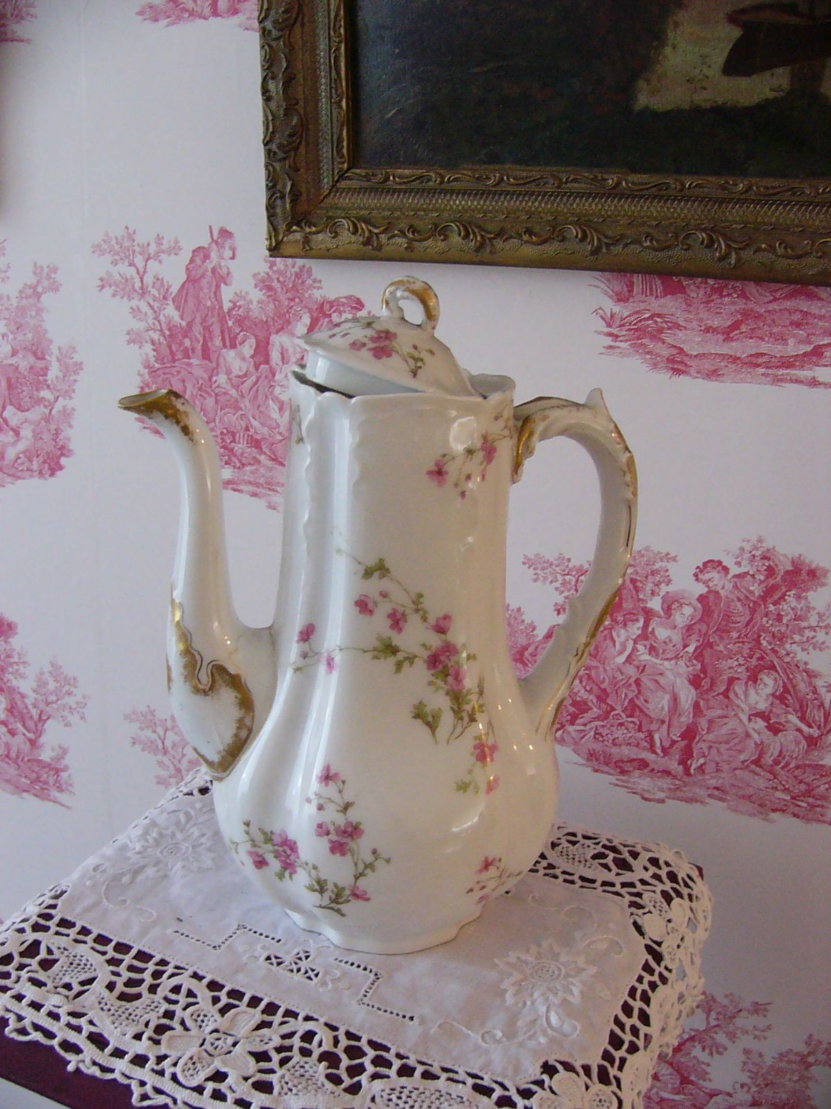 teapot flower vase of haviland limoges charles bailly flowers all things tea pinterest within tea cup a· haviland limoges charles bailly flowers