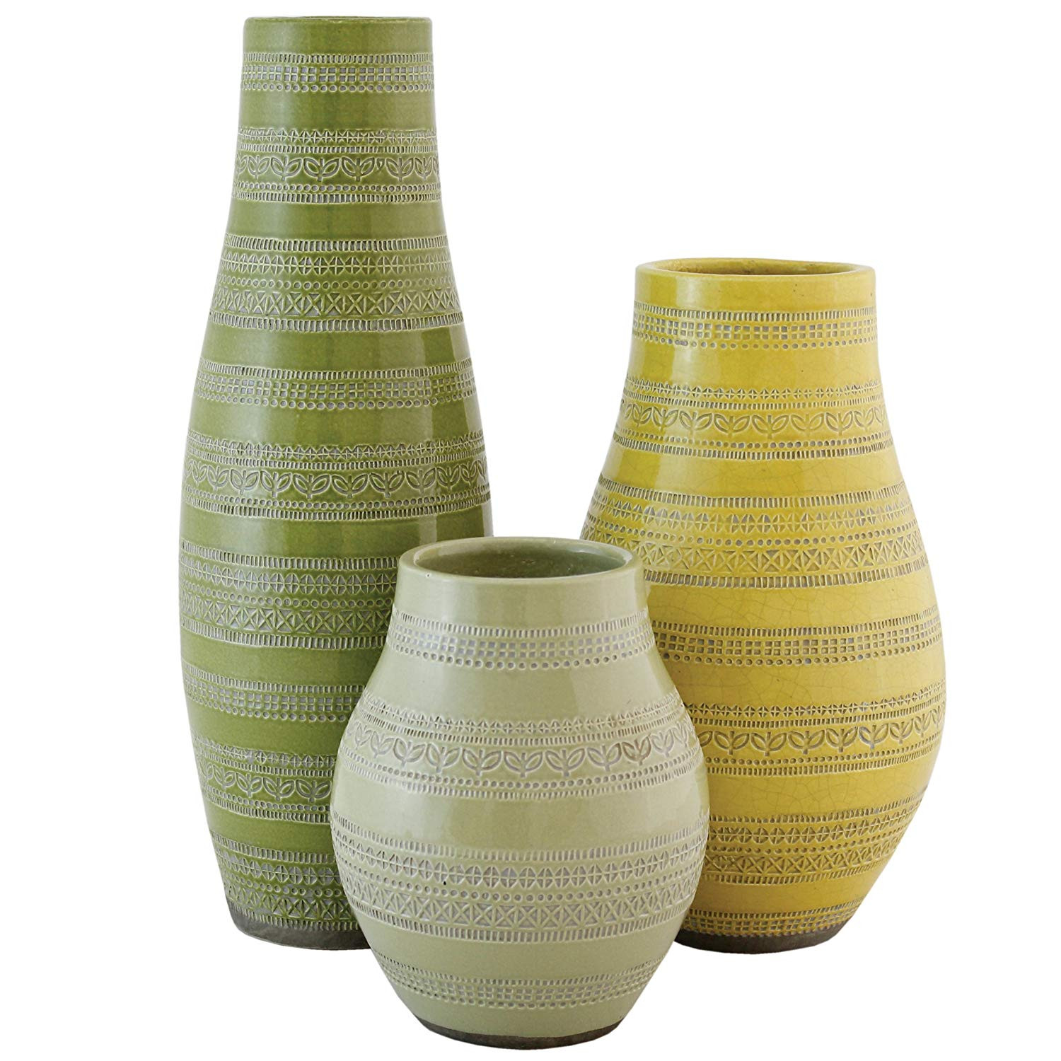 terracotta clay vase of selectives bellini terracotta vases set of 3 amazon co uk throughout selectives bellini terracotta vases set of 3 amazon co uk kitchen home