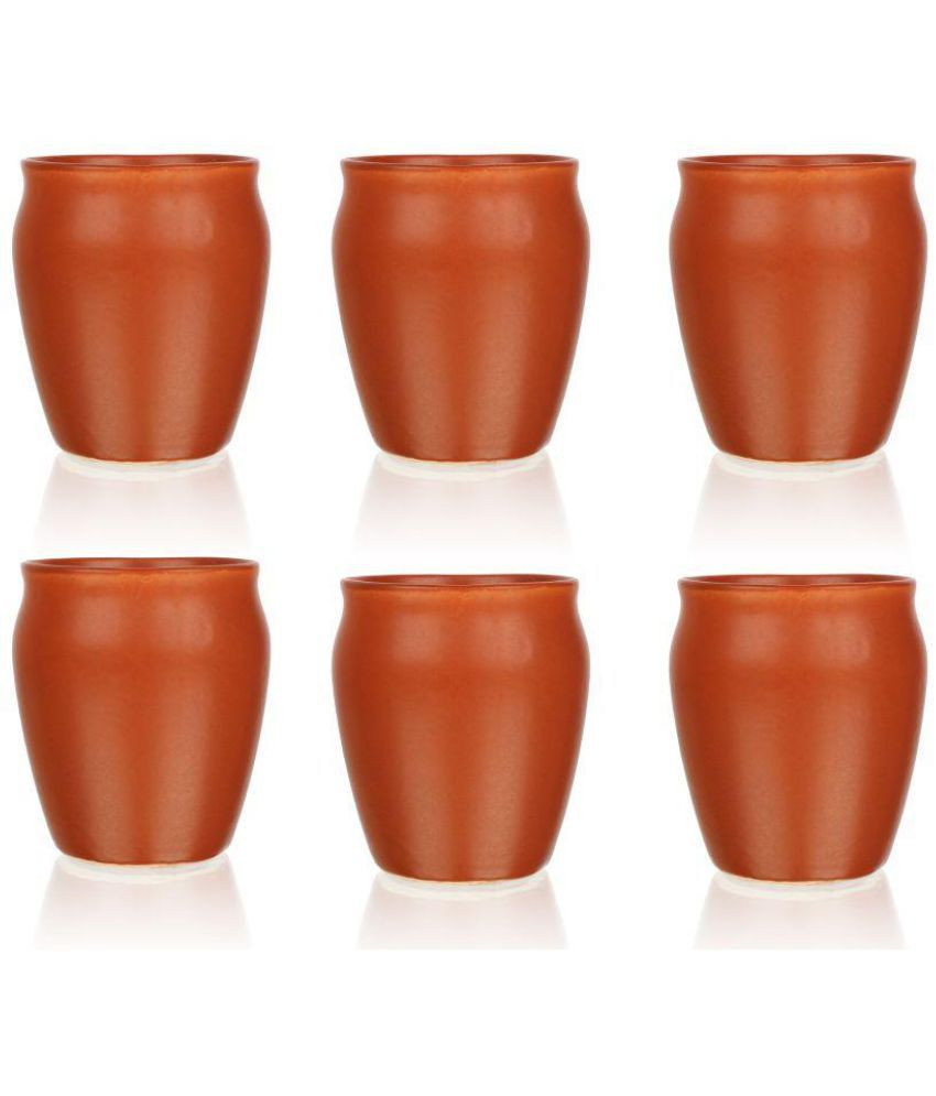 Terracotta Vase Of Fnp Handcrafted Terracotta Kullad Terracotta Tea Cup 6 Pcs Buy Intended for Fnp Handcrafted Terracotta Kullad Terracotta Tea Cup 6 Pcs