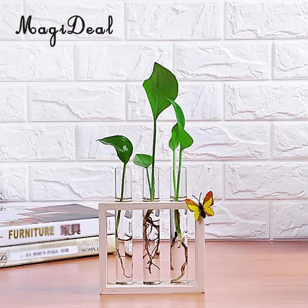 test tube bud vase of 2pcs plant test tube flower bud vase in wooden stand perfect for with regard to 2pcs plant test tube flower bud vase in wooden stand perfect for hydroponic plants home garden