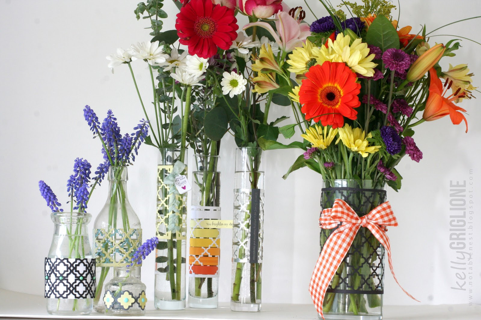 18 Cute the Empty Vase Florist Little Rock Ar 2021 free download the empty vase florist little rock ar of notable nest 350 cards gifts blog hop with the purple arrangements on the left cost me nothing since the vases came from my house milk bottle soda bo
