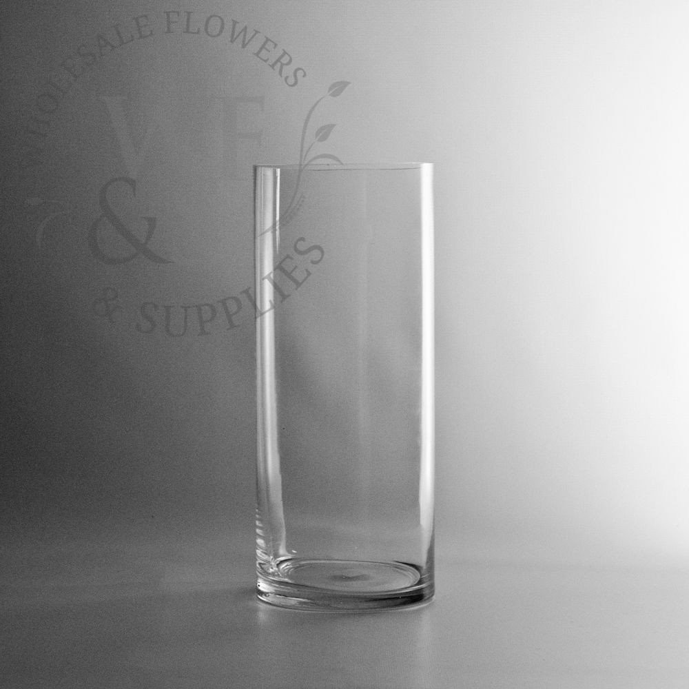 thin rectangle glass vase of glass cylinder vases wholesale flowers supplies inside 12 x 5 glass cylinder vase