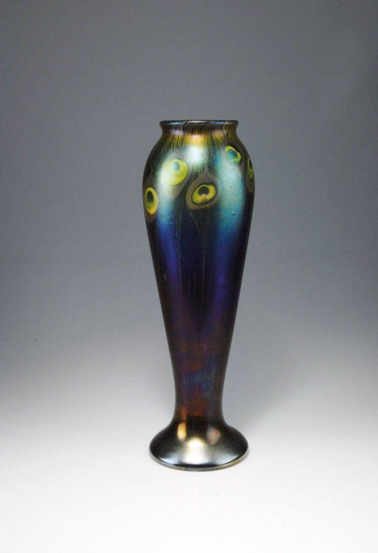 tiffany art glass vase of tiffany studios new york iridescent favrile peacock glass vase regarding tiffany studios new york iridescent favrile peacock glass vase beautiful