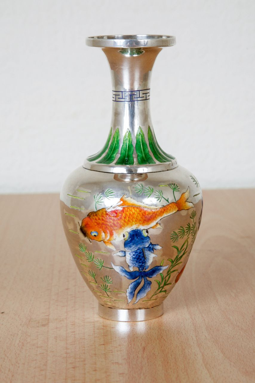 tiffany favrile vase value of chinese silver and enamel vase love it pinterest art for chinese silver and enamel vase from a unique collection of antique and modern more asian art objects and furniture at