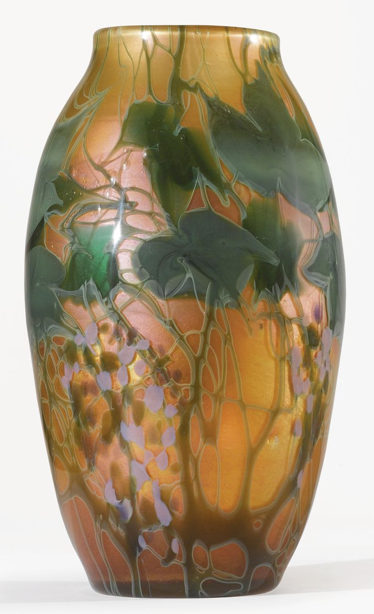 Tiffany Swirl Glass Vase Of 167 Best My Virtual Auction House Images On Pinterest Antique Inside Tiffany Studios A Rare Monumental Paperweight Vase Engraved Louis C Tiffany Favrile Glass 13 In