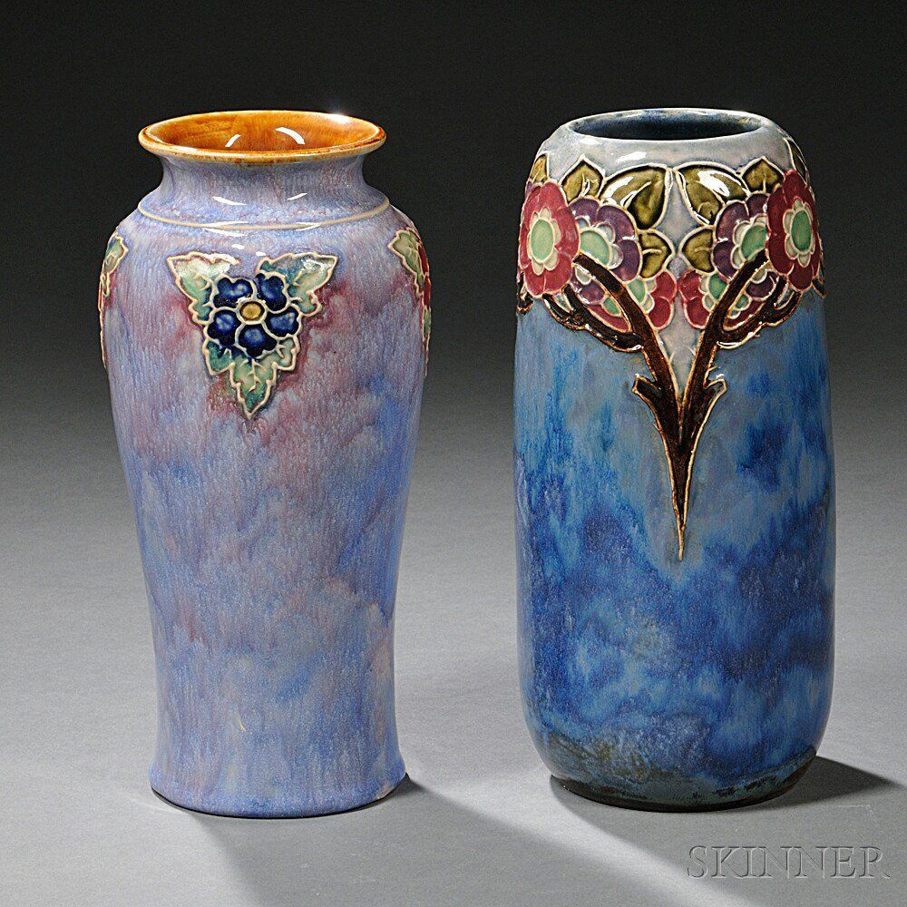 Tiffany Tulip Vase Of Royal Blue Vases Photos Two Royal Doulton Stoneware Vases Moorcroft In Royal Blue Vases Photos Two Royal Doulton Stoneware Vases Moorcroft Pinterest