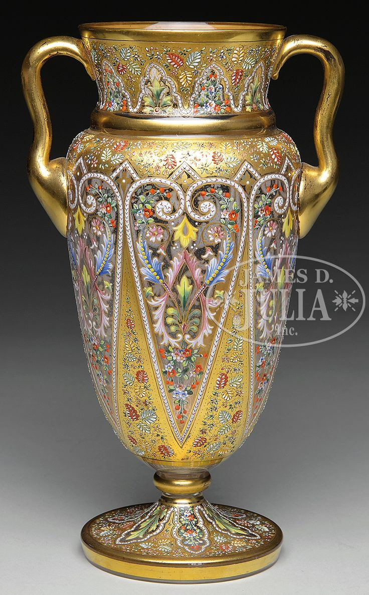 Tiffany Vines Vase Of 1082 Best Vase Images On Pinterest Auction Jars and Porcelain Vase Intended for Fabulous Richly Emamelled and Gilt Glass Vase by Moser
