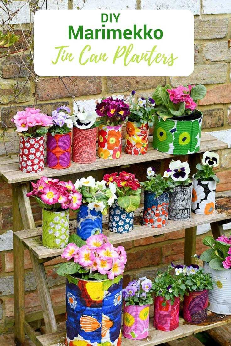 tin can vase ideas of build a planter box for vegetables luxury wooden wedding flowers h with regard to build a planter box for vegetables fresh easy to make colourful tin can planters pillar box