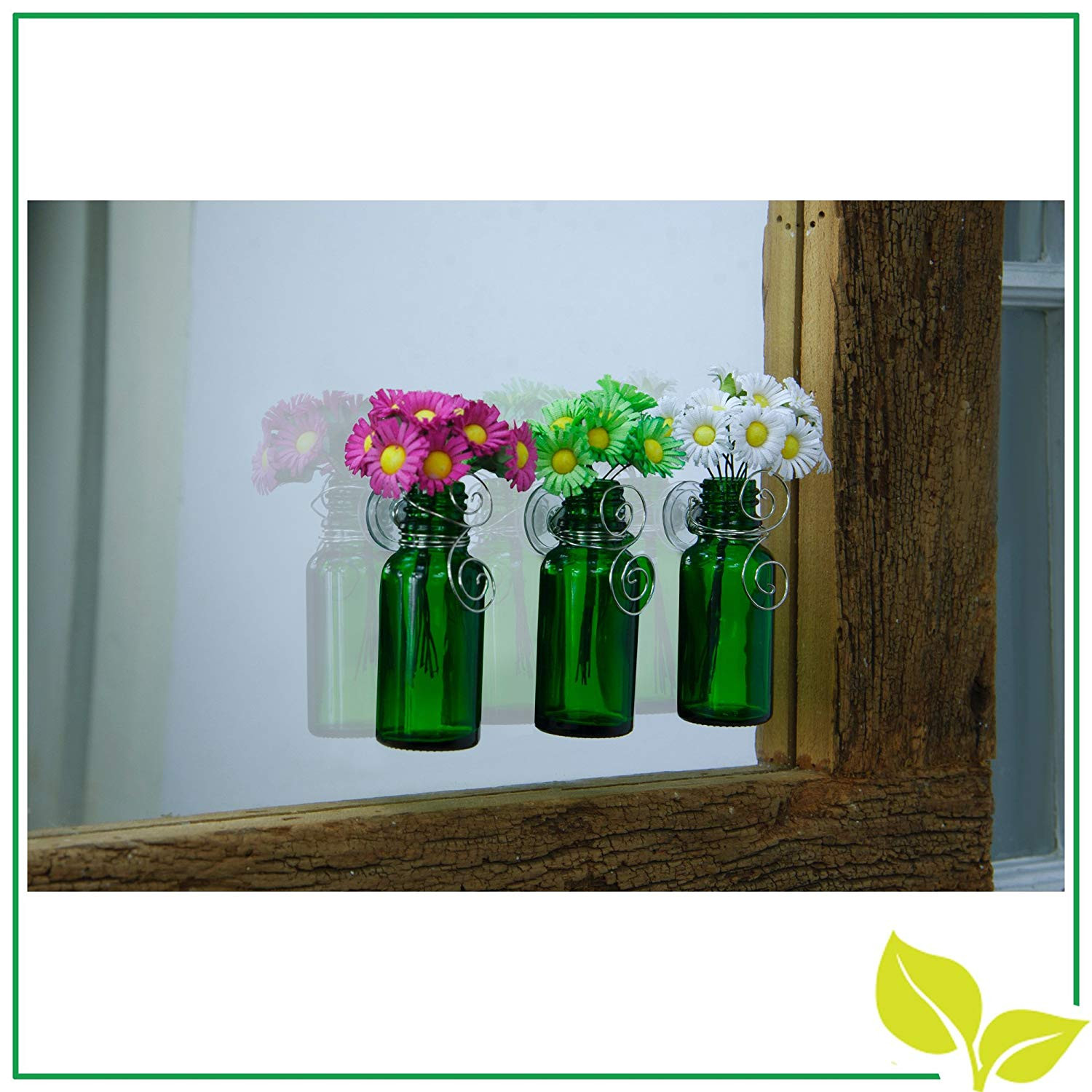 tiny glass bud vases of amazon com vazzini mini vase bouquet suction cup bud bottle with amazon com vazzini mini vase bouquet suction cup bud bottle holder with flowers decorative for window mirrors tile wedding party favor get well