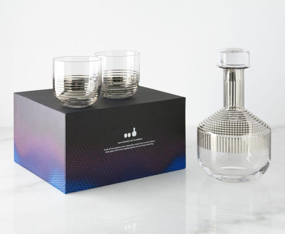 tom dixon vase gold of tom dixon tank whisky set platinum stripe beut co uk within tank platinum stripe whiskey family packaging
