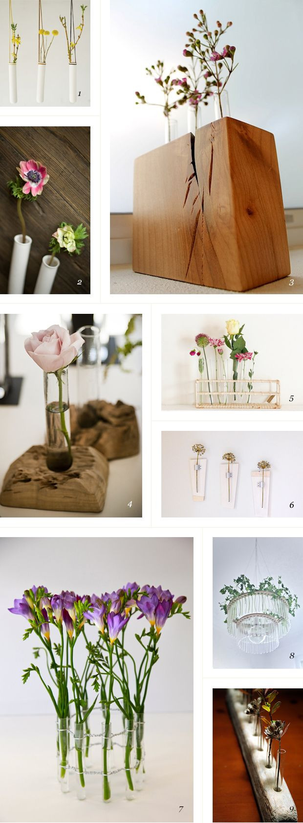 tree trunk flower vases of 71 best vases and candle holders images on pinterest ornaments throughout love these test tube vases could easily make one with a blog of wood and