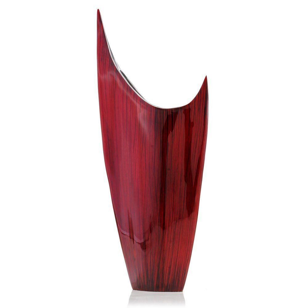 trumpet pilsner vase wholesale of modern day accents 3610 acentuada pointed red glaze vase check intended for modern day accents 3610 acentuada pointed red glaze vase check this awesome product by going