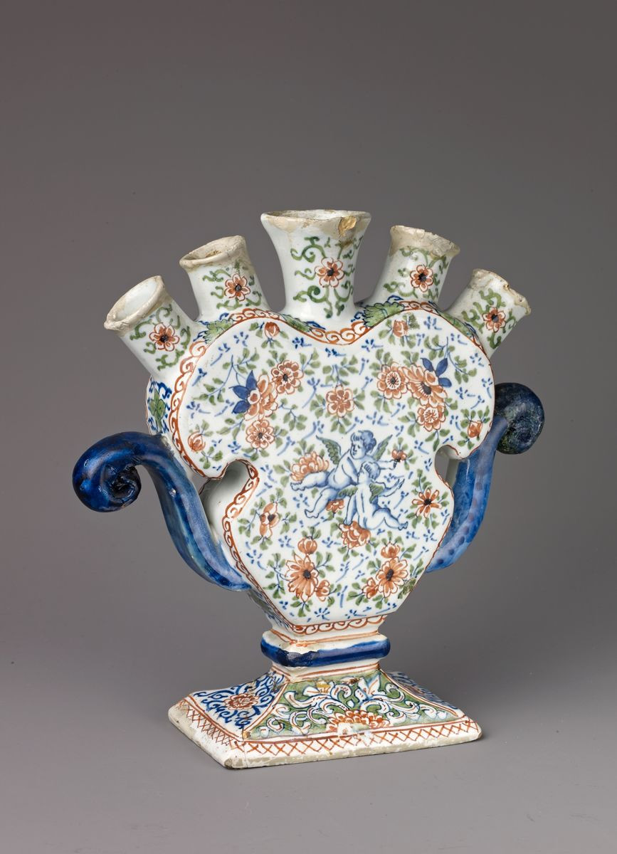 tulip vase amsterdam of tulip vase dutch delft the met with regard to tulip vase tin glazed earthenware dutch delft