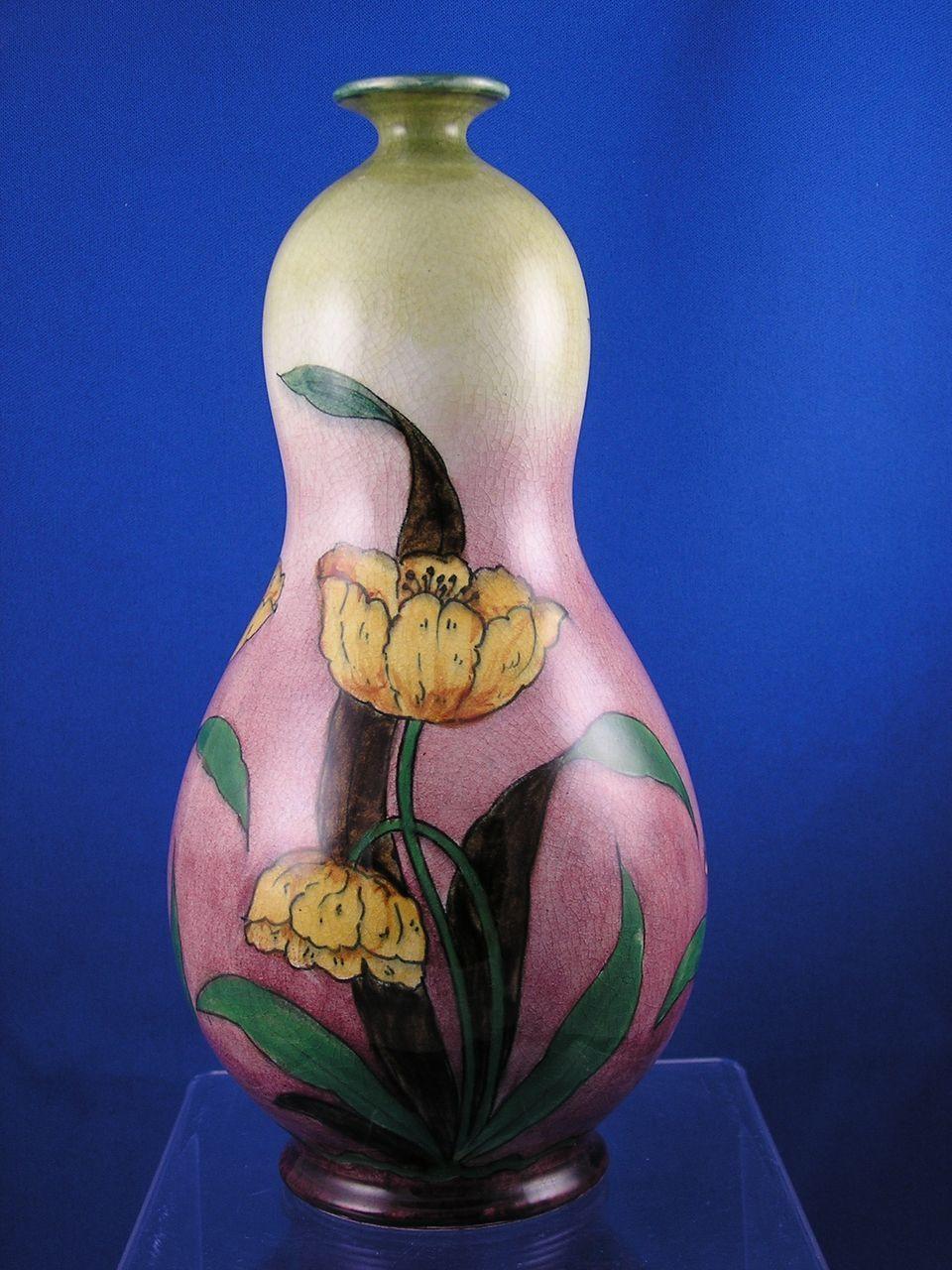 tulip vase antique of royal bonn germany old dutch tulip motif vase c 1890 1923 dutch pertaining to royal bonn germany old dutch tulip motif vase c 1890 1923