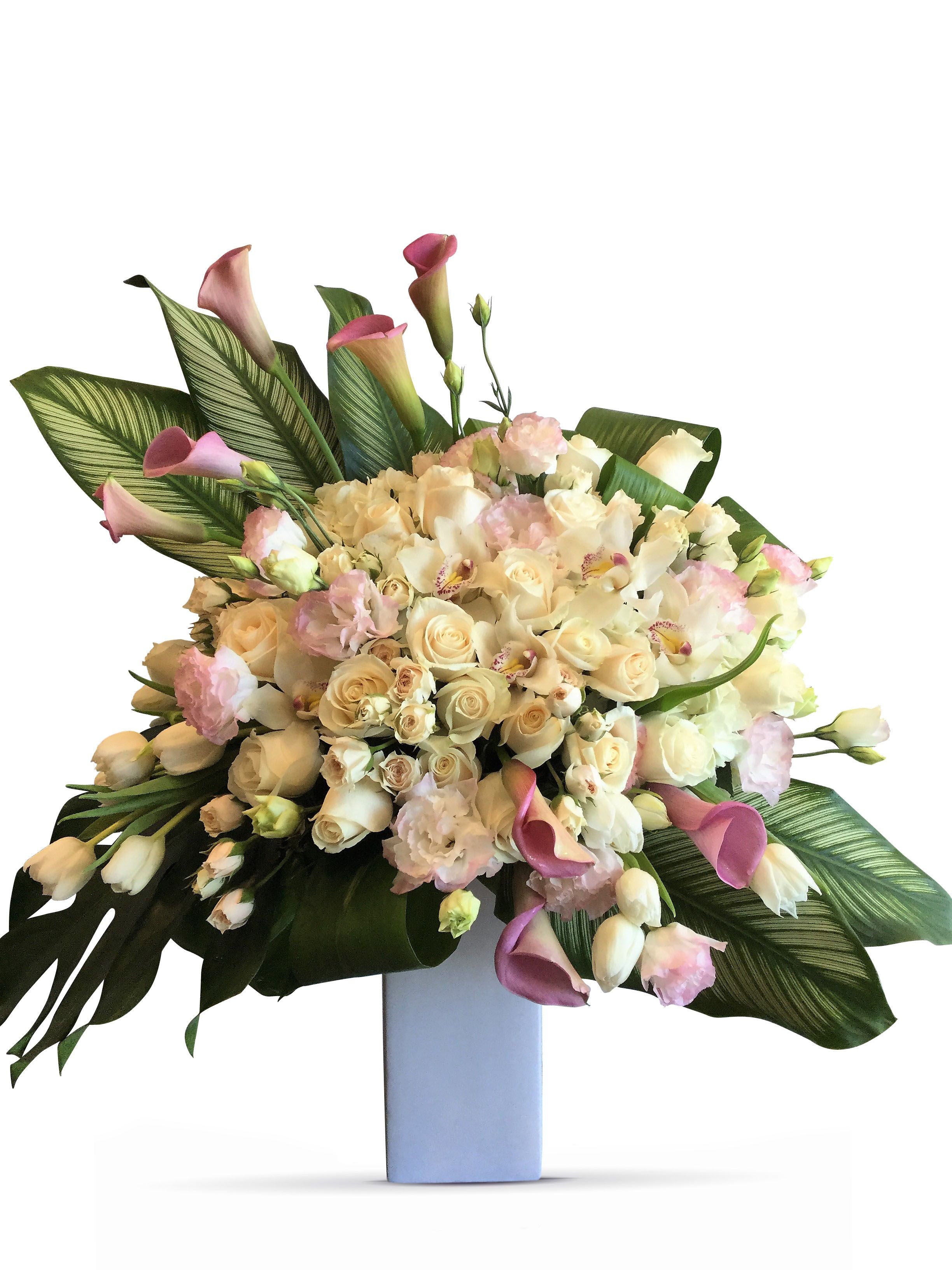 tulip vase ideas of an elegant flower arrangement of white roses white tulips and pertaining to an elegant flower arrangement of white roses white tulips and lilac calla lilies