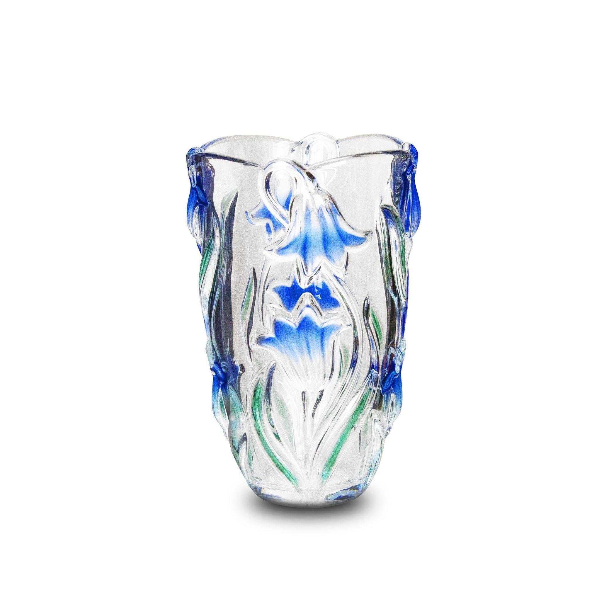 turquoise vase set of studio silversmiths blue danube collection crystal vase products regarding studio silversmiths blue danube collection crystal vase