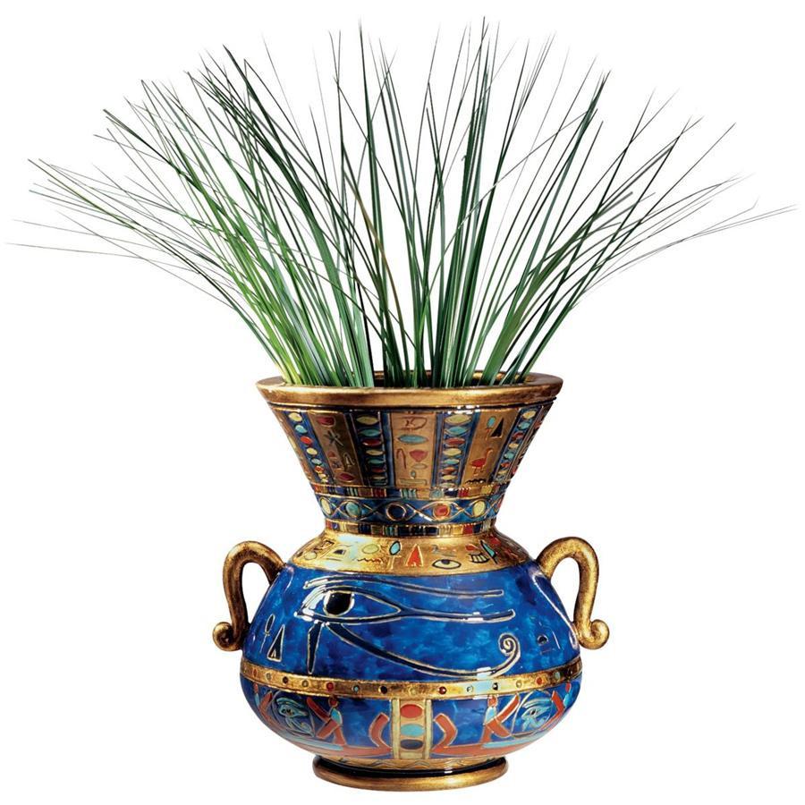 tuscan vases home decor of design toscano eye of horus egyptian vase ebay pertaining to design toscano eye of horus egyptian vase