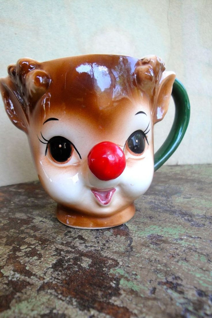 ucagco china vase of 203 best christmas ceramics images on pinterest christmas deco with lefton rudolph mug got to find one