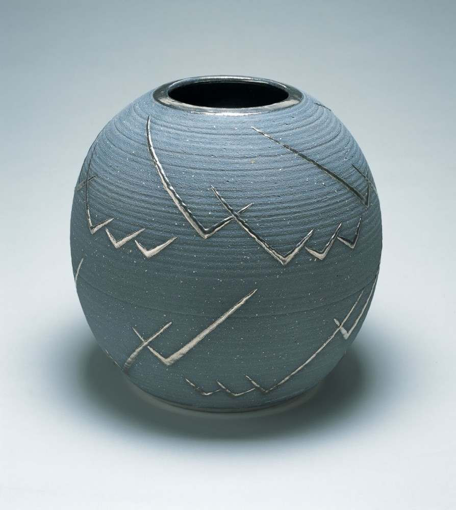 unglazed white ceramic vase of cranbrook art museum within maija grotell vase 1943