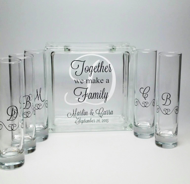 unity sand vase of blended family sand ceremony set unity candle alternative regarding il fullxfull 861949320 7dy3