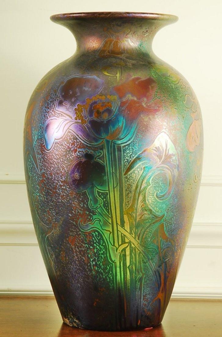 van briggle lorelei vase of 48 besten weller sicardo bilder auf pinterest glasvase keramik inside weller pottery jacques sicard iridescent glazed pottery vase