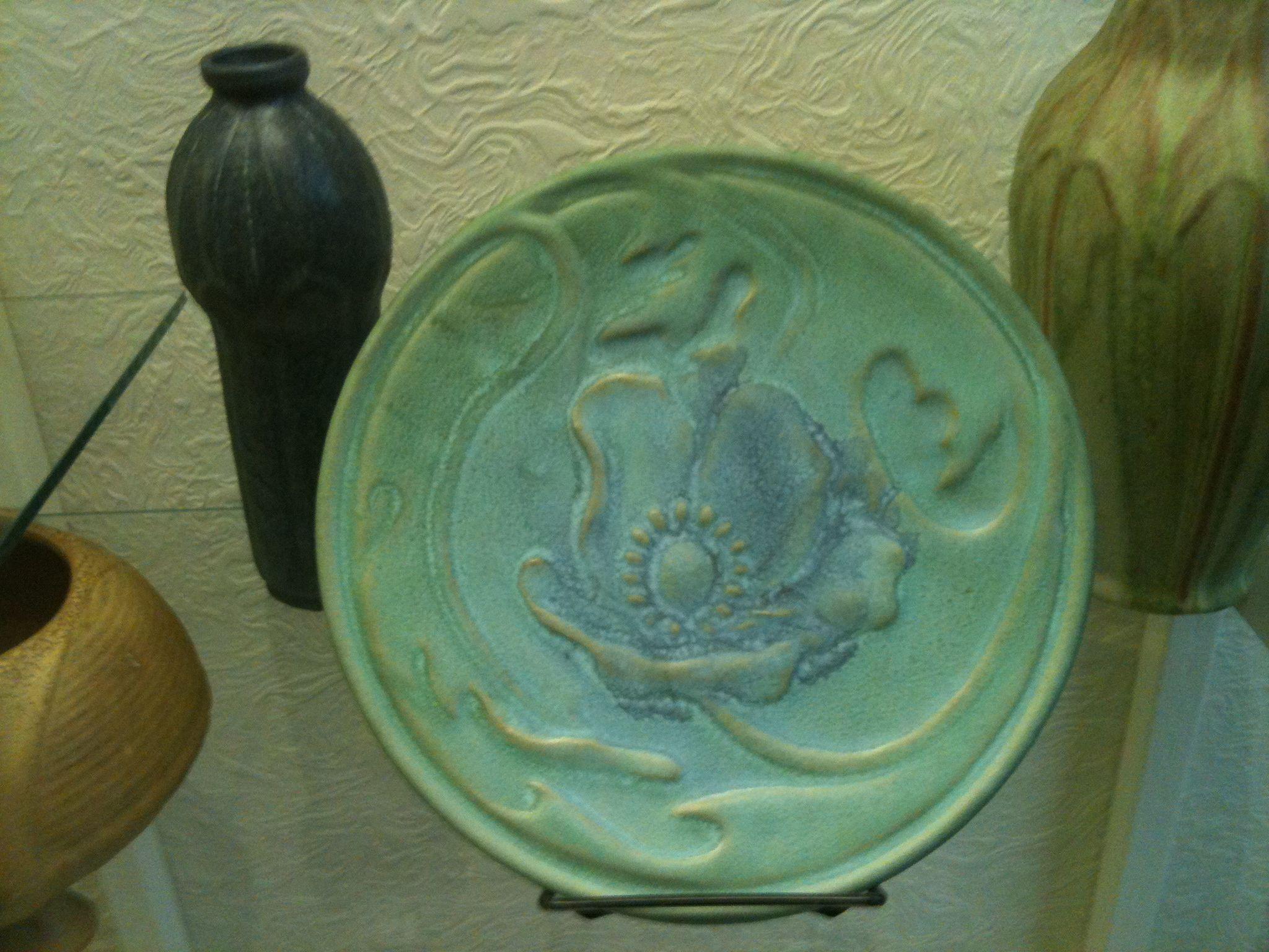 van briggle lorelei vase of pioneer museum colorado springs co the largest van briggle with regard to pioneer museum colorado springs co the largest van briggle exhibit j